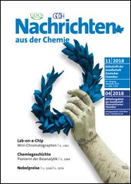 Aktuelles Cover der Nachrichten aus der Chemie